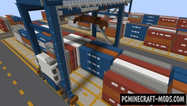 Huntington City Modern Texture Pack Minecraft 1.16.5, 1.16.4