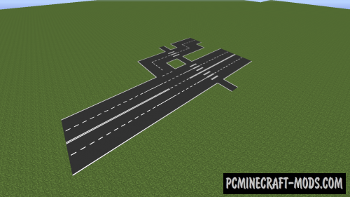 AsphaltMod - Decoration Mod For Minecraft 1.7.10