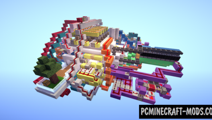 All In One Room Map For Minecraft