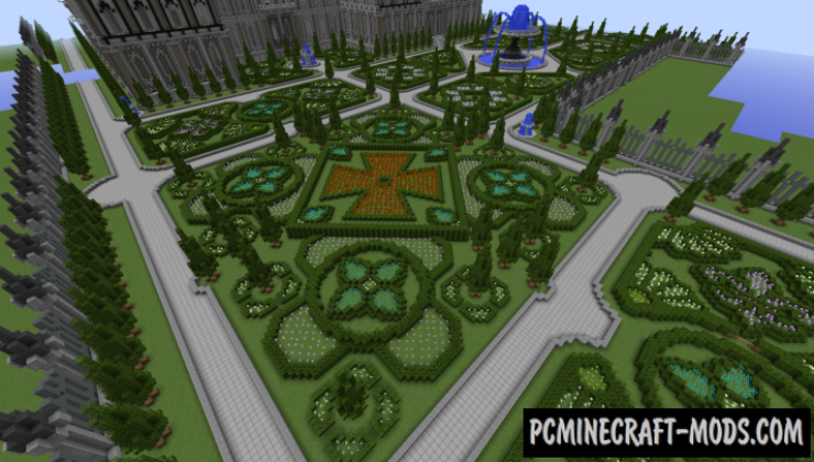 Chateau Soulagement Map For Minecraft