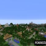 Isla Cornicupinia Map For Minecraft