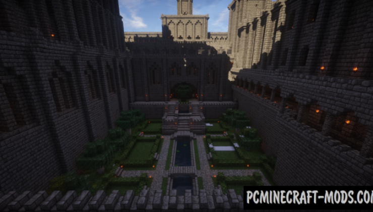 Medieval Stronghold Complex - Castle Map For MC