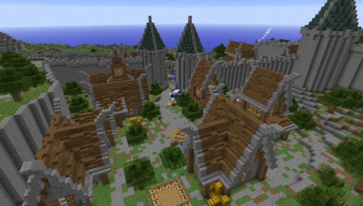 City of Bastion - Castle Map For Minecraft