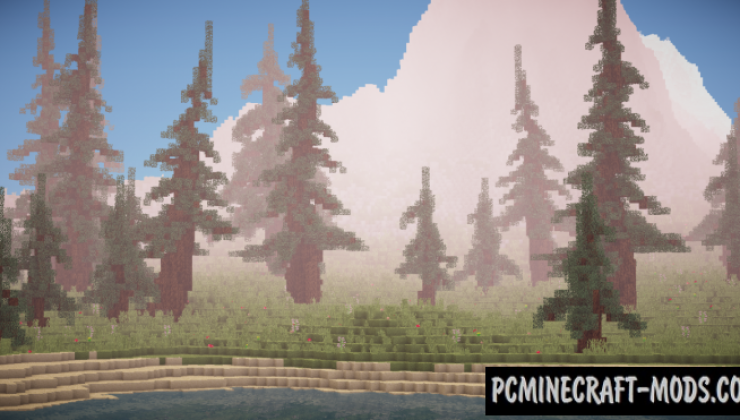 Medieval/Fantasy Custom Terrain Map For Minecraft