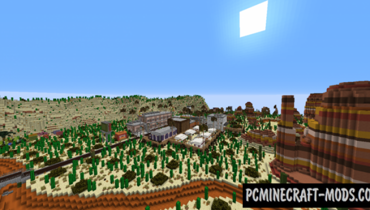 Patriotville - City Map For Minecraft