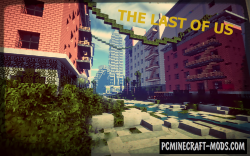 The Last Of Us Map For Minecraft PC Java Mods - The last of us minecraft map