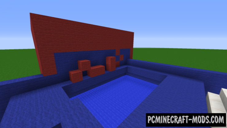 The Wipeout Obstacle Course Map For Minecraft