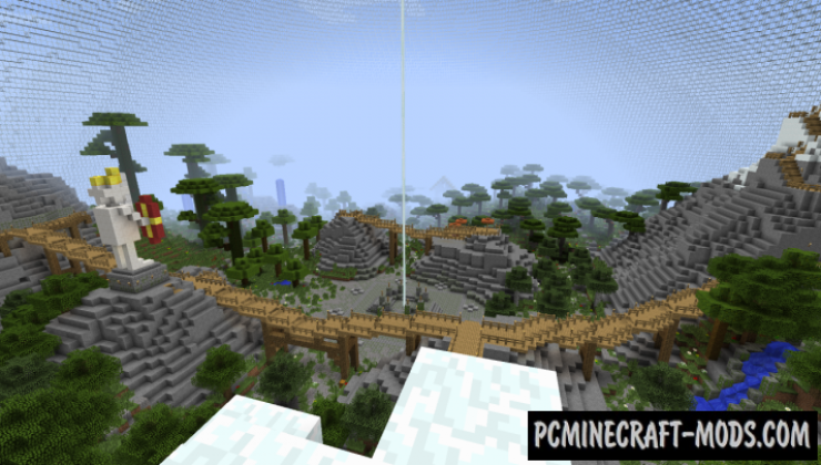 Small PvP Arena Map For Minecraft