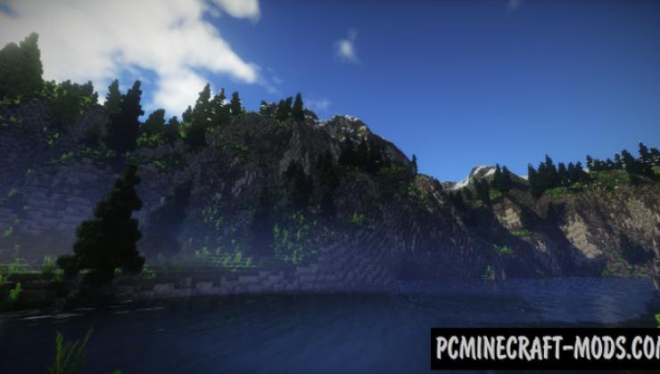Norwegian Fjord - Terrain, Surv Map For Minecraft