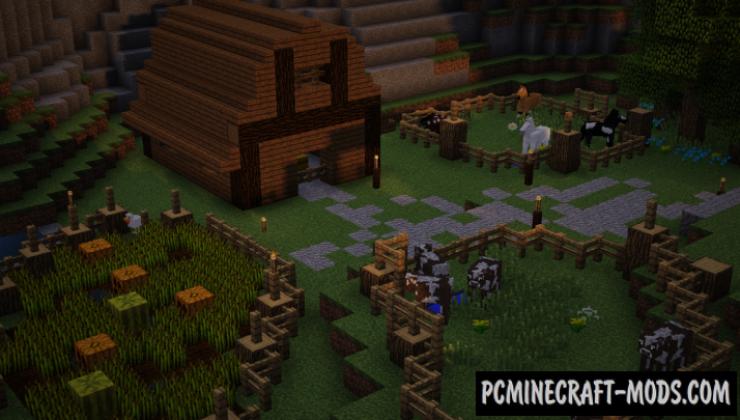 Raven Village - Town Map For Minecraft