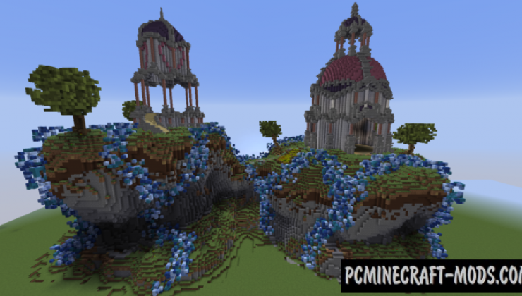 Two Towers - Arena, PvP Map For Minecraft
