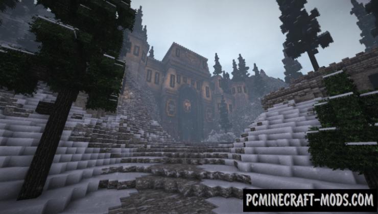 Dwarf build - Castle, Building Map For Minecraft