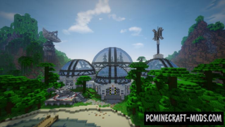 DanTDM Lab - Building, Adv Map For Minecraft
