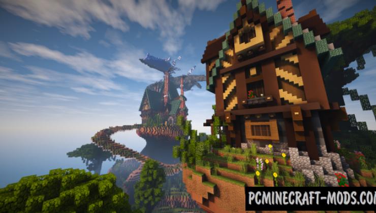 Tudor Style House - Surv Map For Minecraft