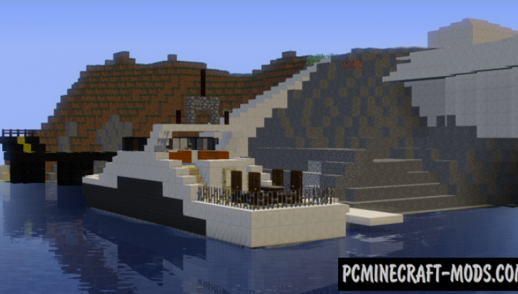 Modern House of Iron Man Map For Minecraft