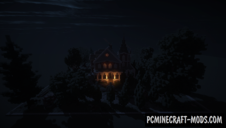 Victorian Mansion - House Map For Minecraft
