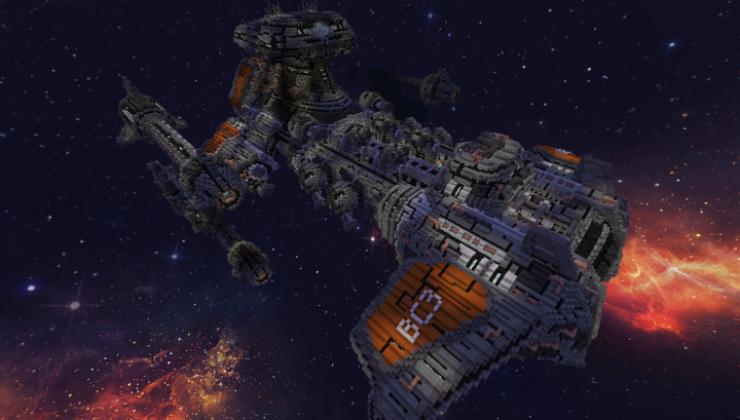 Starcraft 2 BattleCruiser - 3D Building Map
