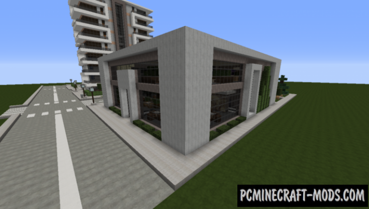 Modern Restaurant and Lounge - Building Map