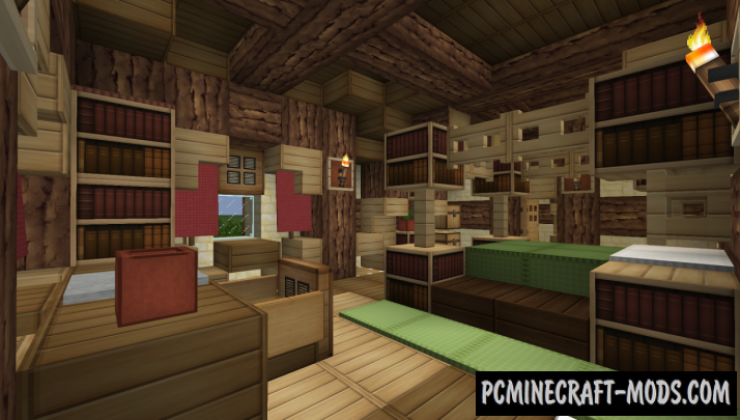 Hobbit Hole - House Map For Minecraft