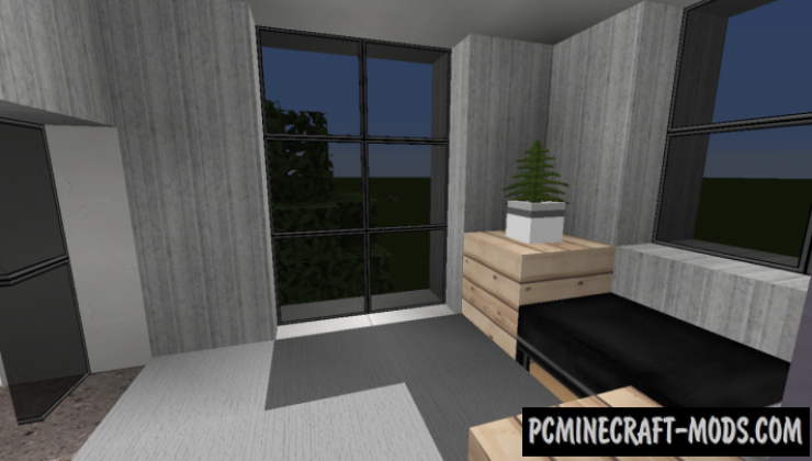Small Modern House 4 Map For Minecraft