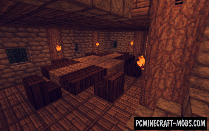 how to make a medieval house in minecraft pc