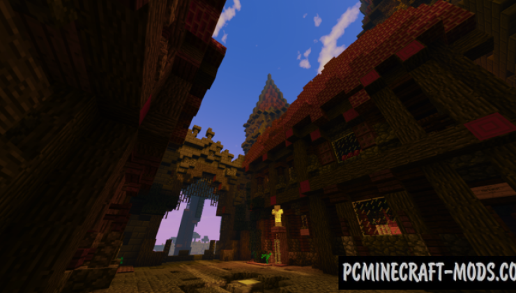 Factions Castle Spawn Map For Minecraft
