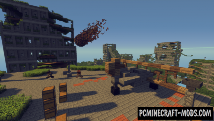 Apocalyptic City Map For Minecraft