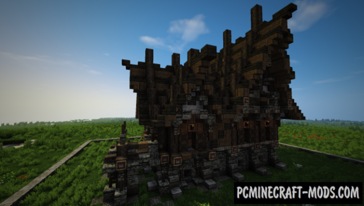 Medieval House Map For Minecraft
