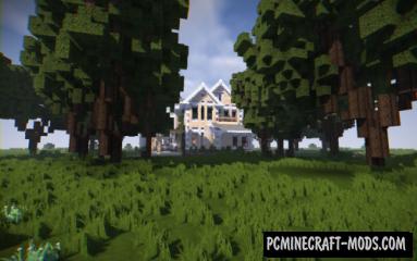 Victorian Mansion Map For Minecraft