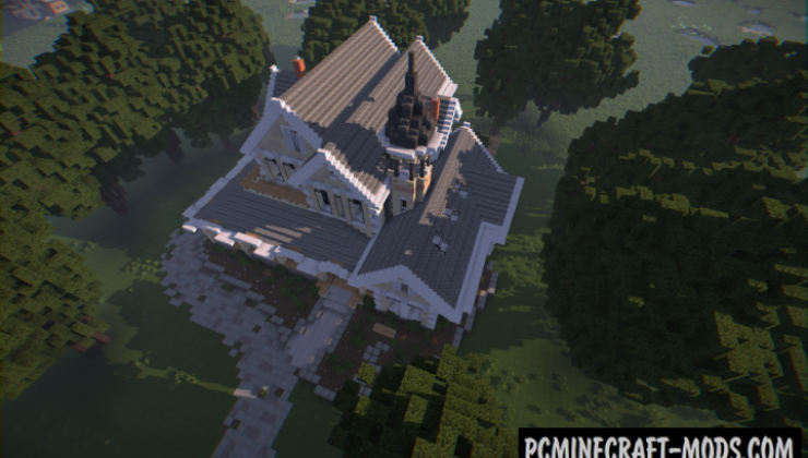 Victorian Mansion Map For Minecraft