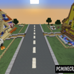 Colorful Rotations Map For Minecraft