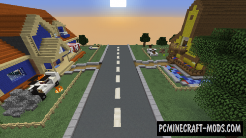 Hello Neighbor Map For Minecraft PC Java Mods Addons - Map para minecraft 1 10