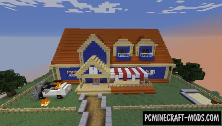 Hello Neighbor Map For Minecraft
