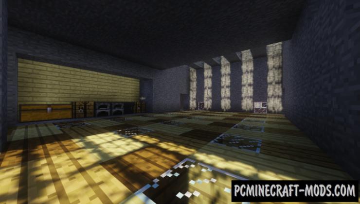 Modern Underground House Map For Minecraft