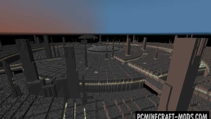 Coruscant Planet - City Map For Minecraft