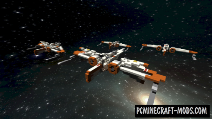 ARC-170 Starfighter Map For Minecraft