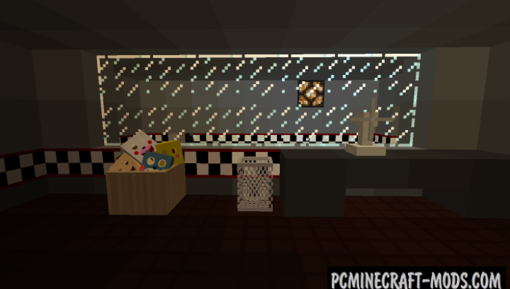 Five Nights At Freddy's 3 - Horror Map For Minecraft