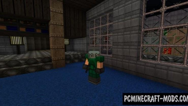 Doom Craft 32x Resource Pack For Minecraft 1.8.9, 1.7.10