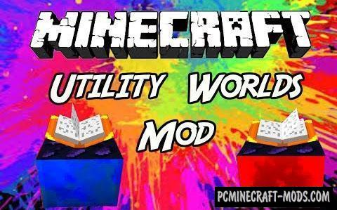 Utility Worlds - Dimensions Mod For Minecraft 1.15.2, 1.14.4