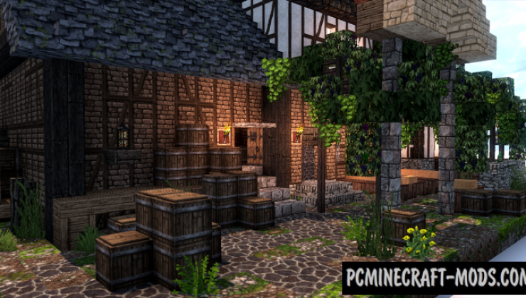 Pioneer's Inn - House Map For Minecraft