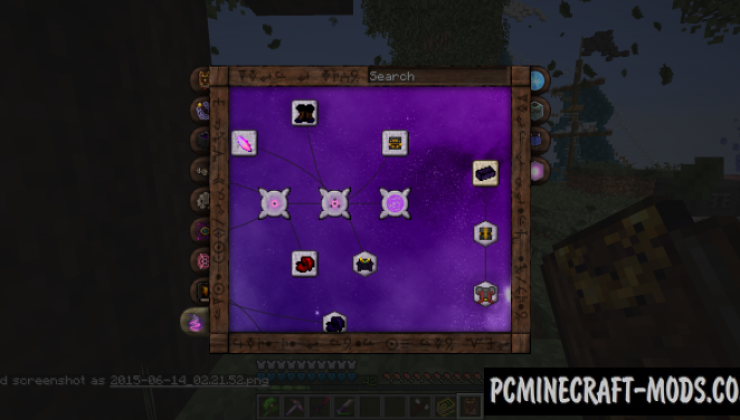 minecraft dark magic mod