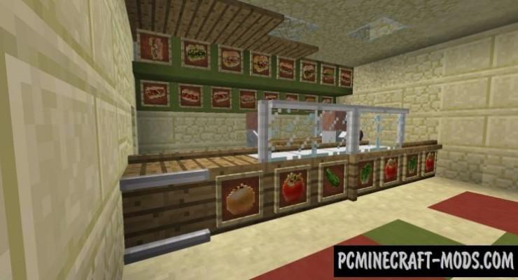 Subway Sandwiches Mod For Minecraft 1.7.10