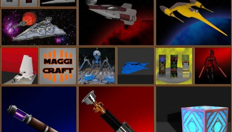 Star Wars Interdictor 128x Texture Pack For Minecraft 1.8.9
