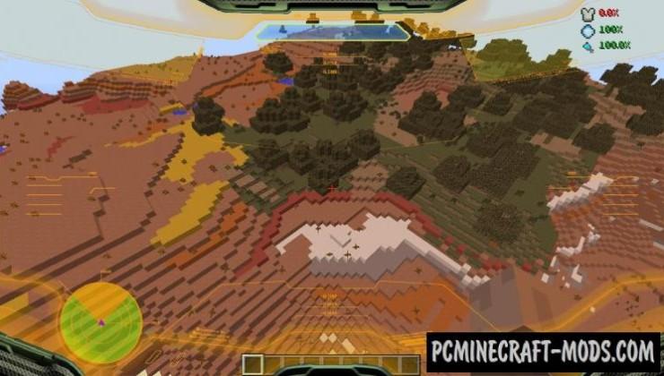 Halo HUD Mod For Minecraft 1.7.2