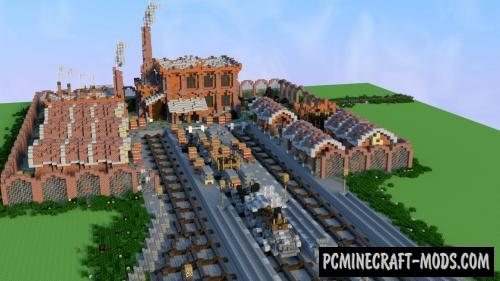 Old factory Map For Minecraft