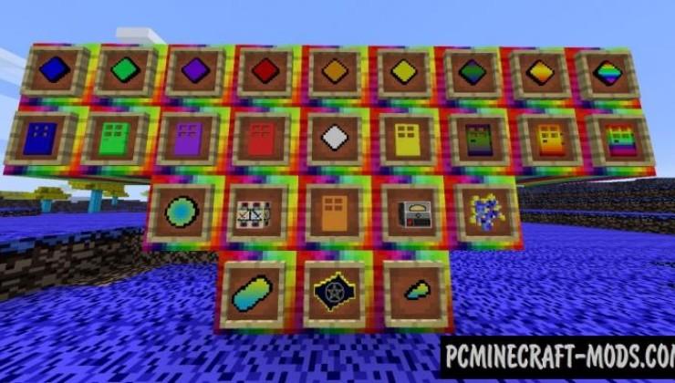 Color (Rainbow) - Dimension Mod For Minecraft 1.7.10