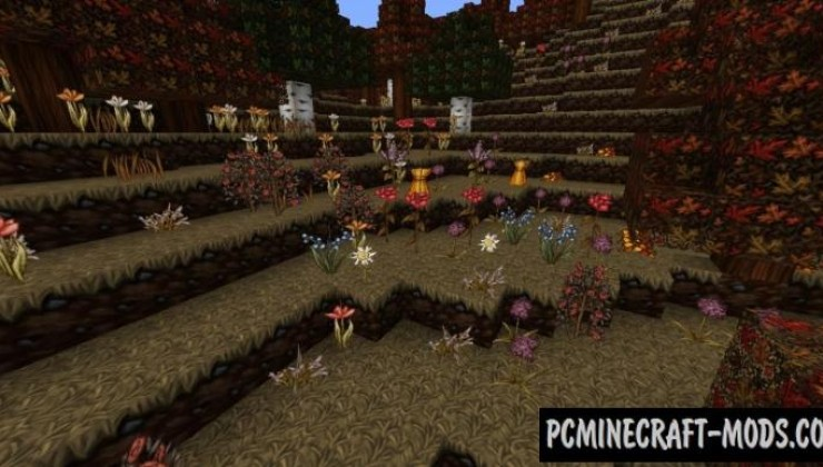 Wolfhound Seasons 64x Texture Pack For Minecraft 1.8.9