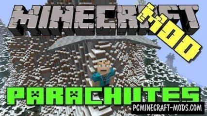 Parachute - Tool Mod For Minecraft 1.15.1, 1.14.4