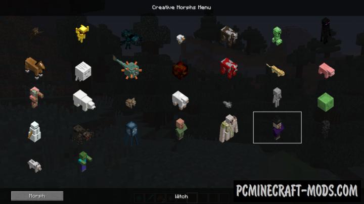 Metamorph Mod For Minecraft 1.12.2, 1.11.2, 1.10.2, 1.9.4