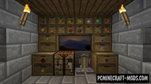 Storage Drawers - New Blocks Mod For Minecraft 1.16.3, 1.15.2